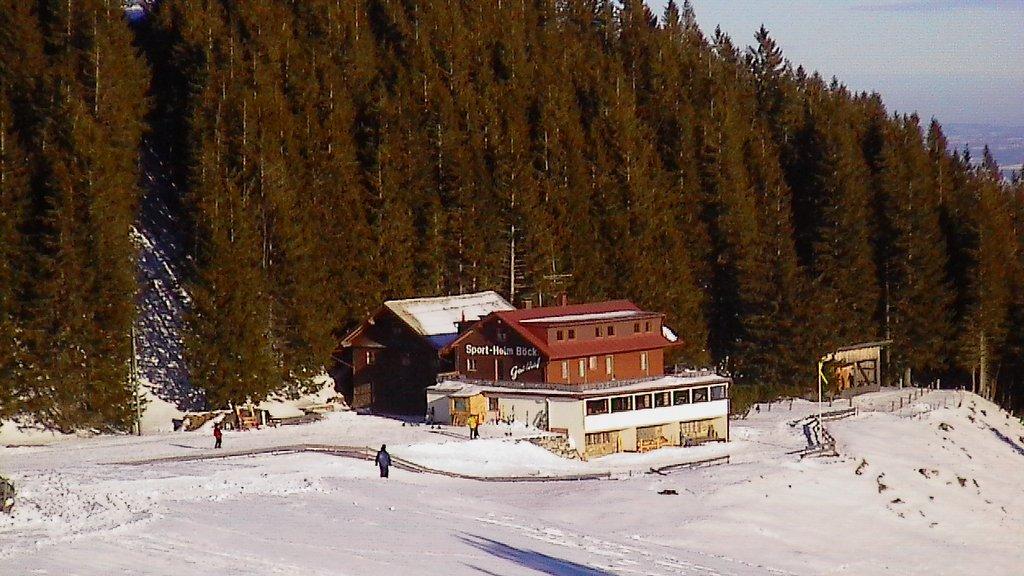 Das alte Sportheim Böck