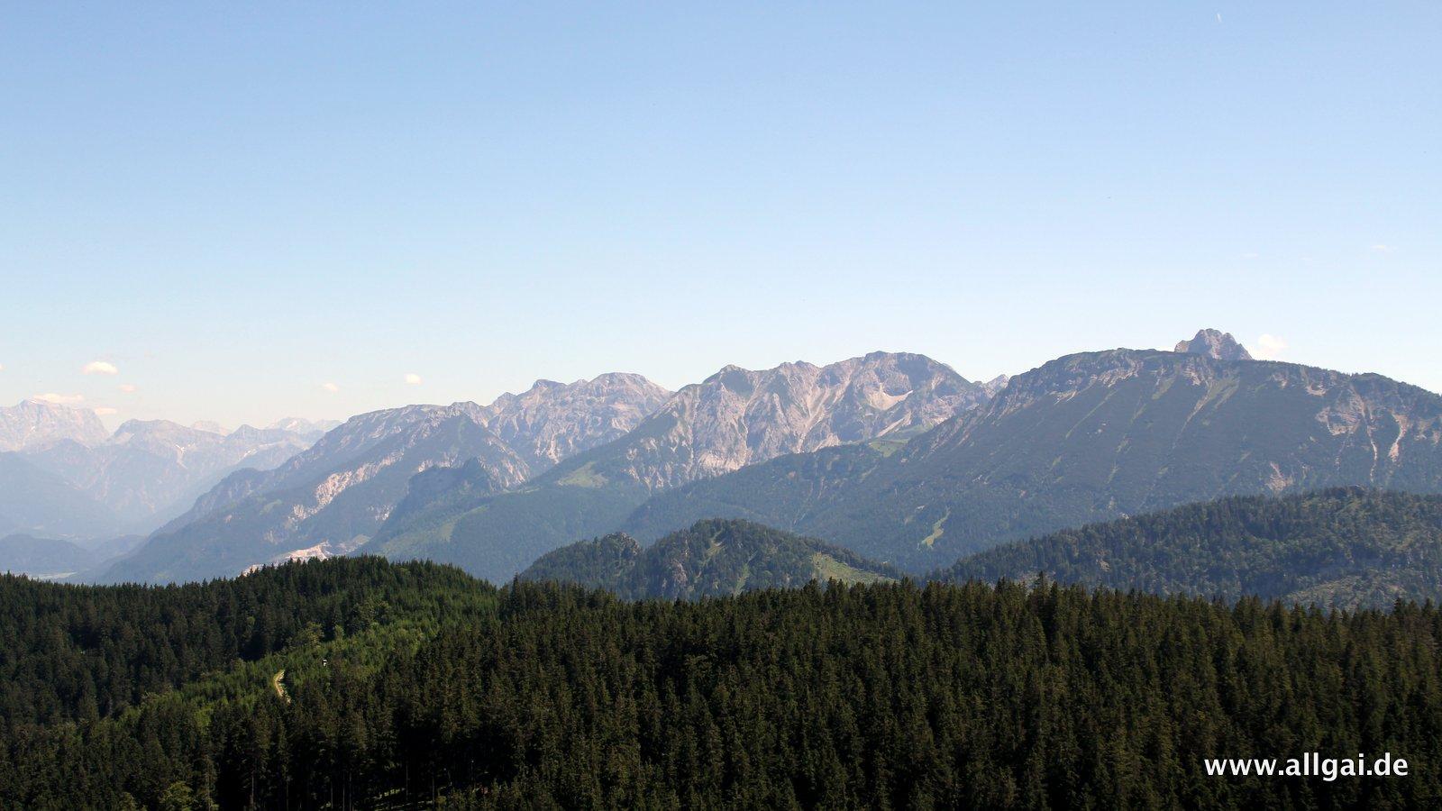 Ausblick vom Sportheim Böck